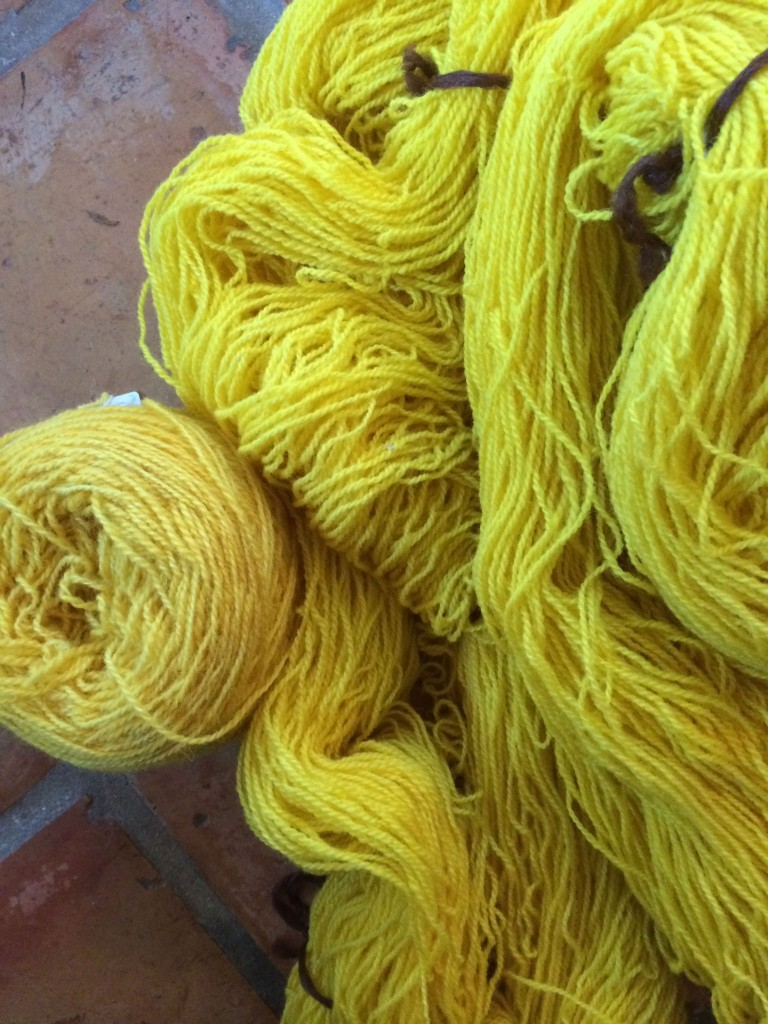 Yellow-yarns