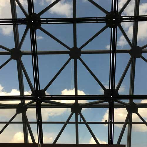 Ceiling/roof at my bank