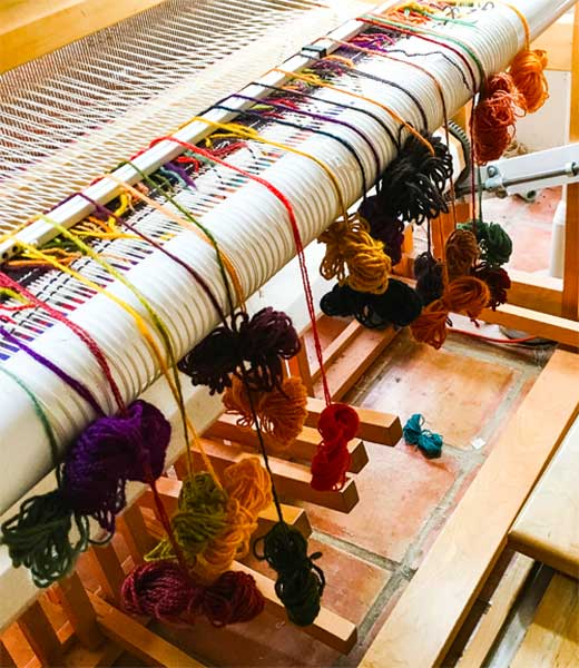 Fall on the loom